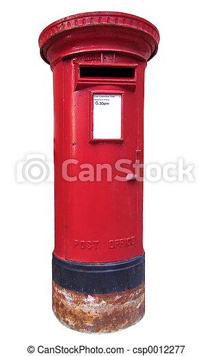 engelsk, Postkasse - csp0012277