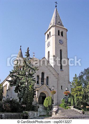 tokaj, 教堂 - csp0013227