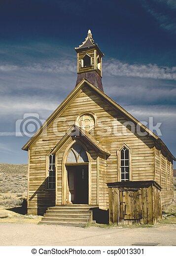 Bodie Church - csp0013301