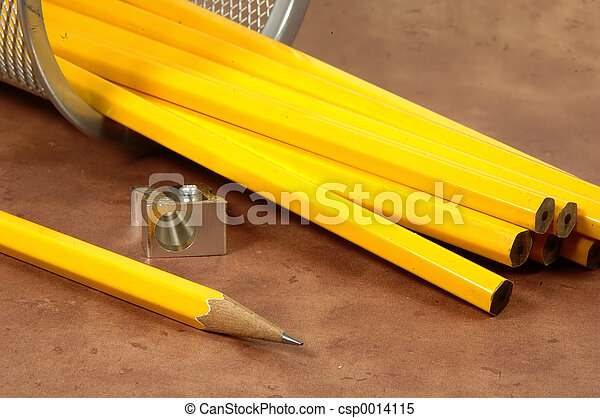 Unsharpened Pencils - csp0014115