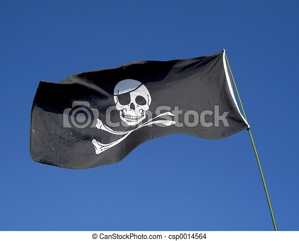 Pirate Flag - csp0014564