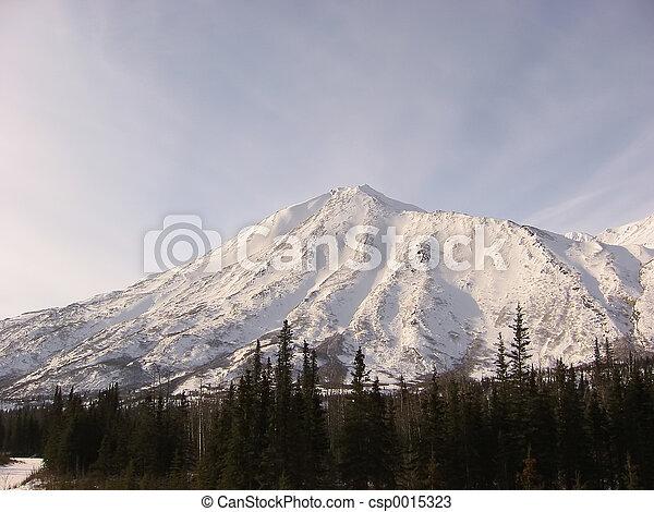 montagne,  denali - csp0015323