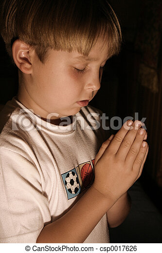 Bedtime Prayer - csp0017626