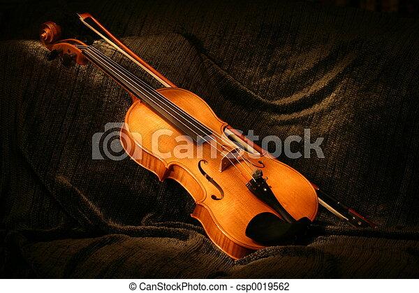 Painted Viola - csp0019562