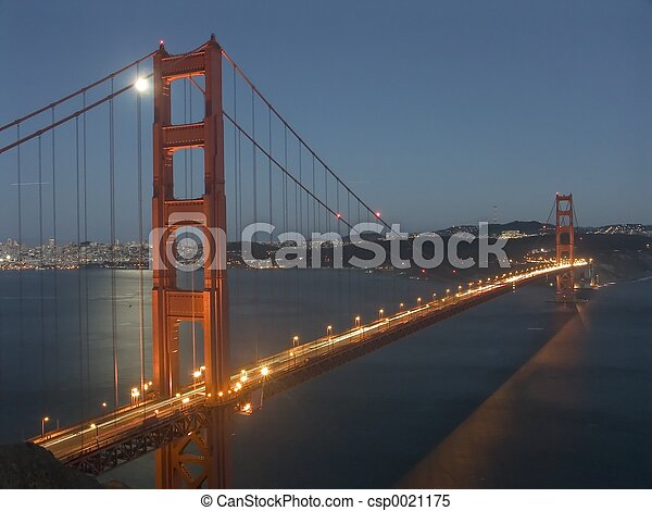 Golden Gate moon