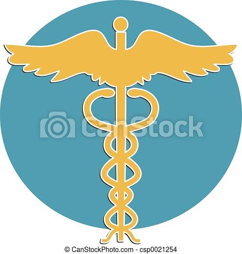 médico, símbolo - csp0021254