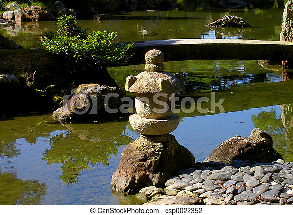 Stone lantern - csp0022352
