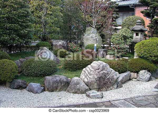 Stock photographs of rock garden an ordinary japanese for Free rock garden designs