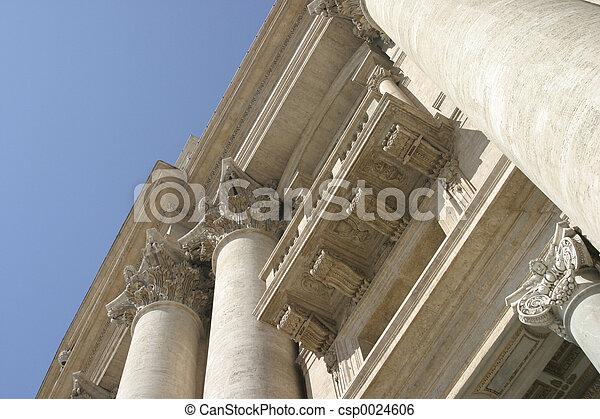 Roman Architecture - csp0024606