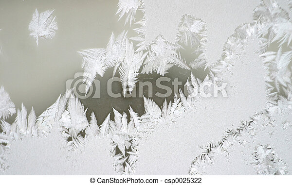 frost on window 3 - csp0025322
