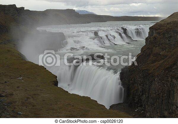 Waterfall (Gulfoss) - csp0026120