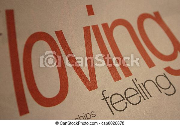 Loving Feeling - csp0026678