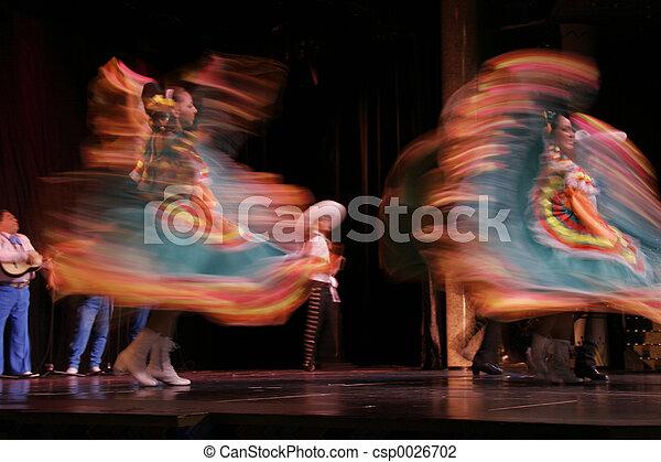 Mexican Folk Dancer - csp0026702