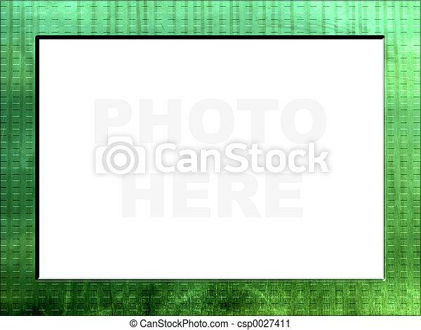 Emerald frame - csp0027411