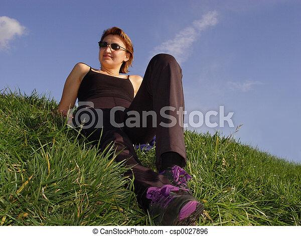 Enjoying life - csp0027896