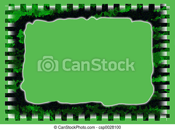 Green Bush Frame - csp0028100