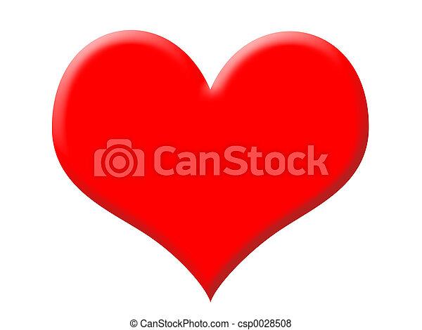 Big Red Heart - csp0028508