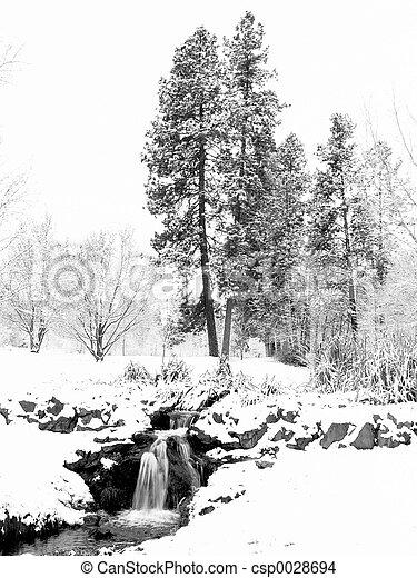 Winter Snow - csp0028694