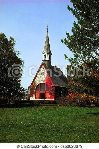 Grand Pre Church - csp0028879