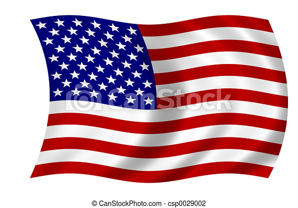 American flag - csp0029002