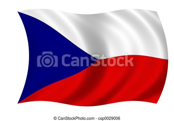 flag of the czech re - csp0029006