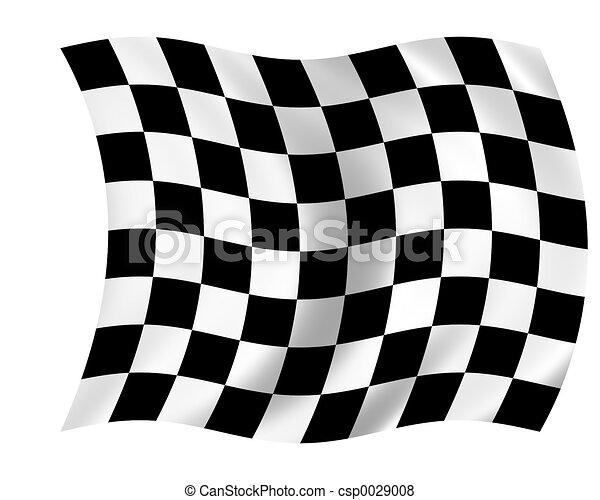 checkered flag - csp0029008