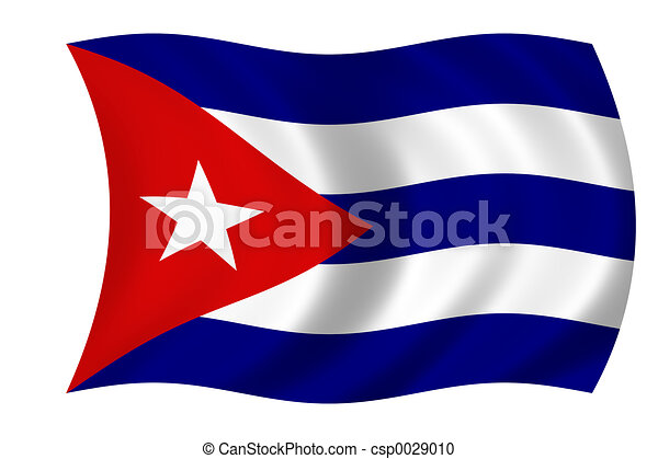cuban flag - csp0029010