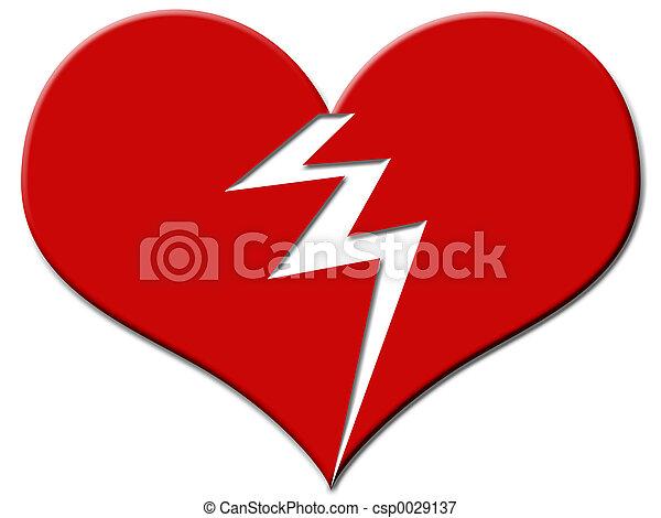 Broken Heart - csp0029137