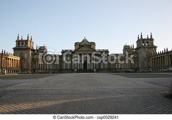 Palace Courtyard - csp0029241
