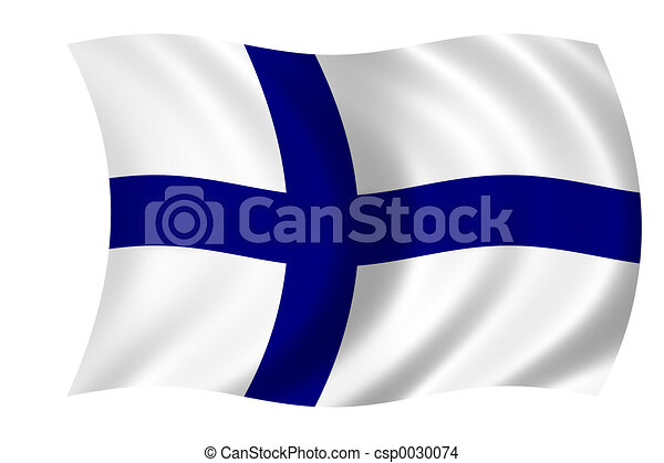 Flag of Finland - csp0030074