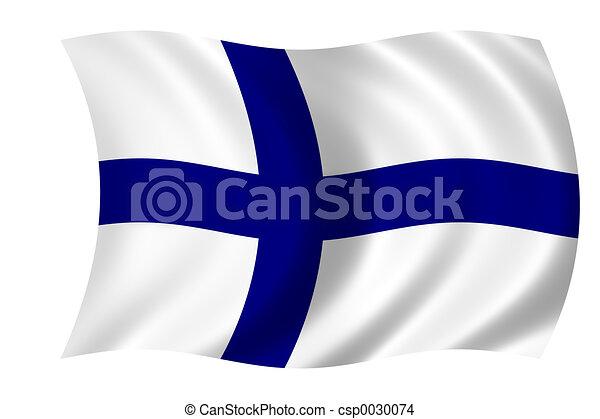 Flag of Finland - csp0030074