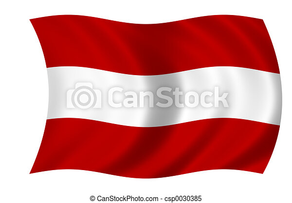 flag of austria - csp0030385