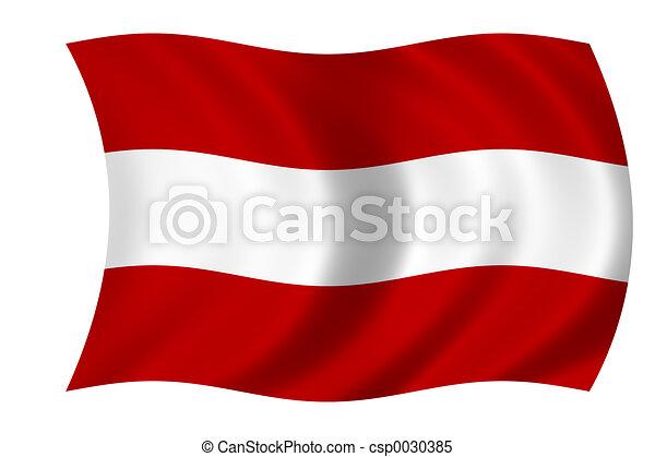 flag of austria - csp0030385