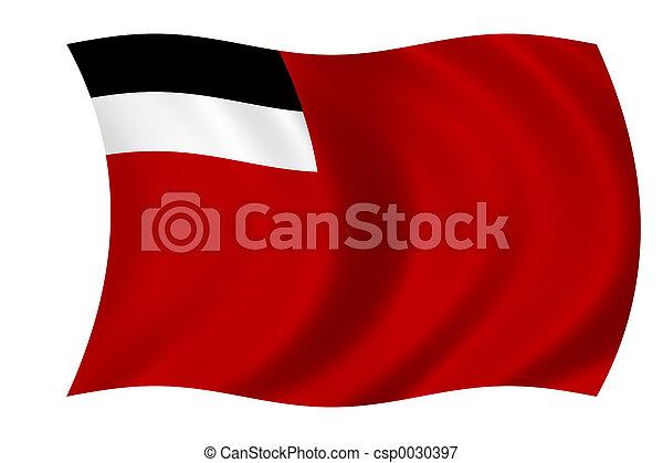 Fahne,  georgia - csp0030397