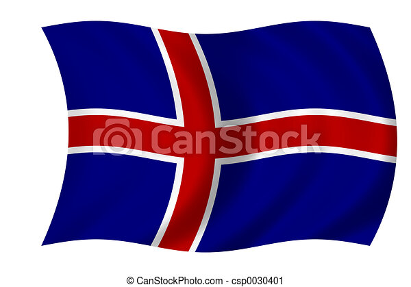 flag of Iceland - csp0030401