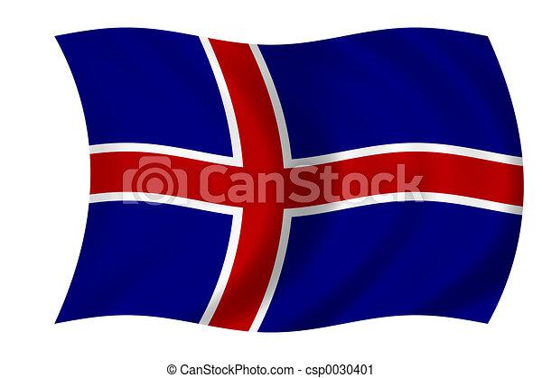 flag of Iceland - csp0030401
