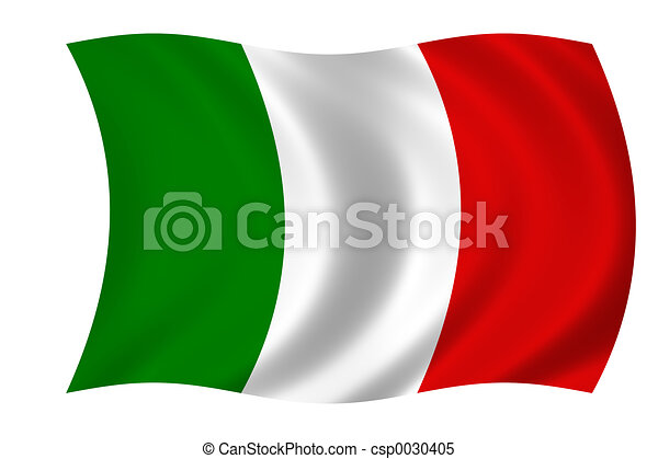 flag of Italy - csp0030405