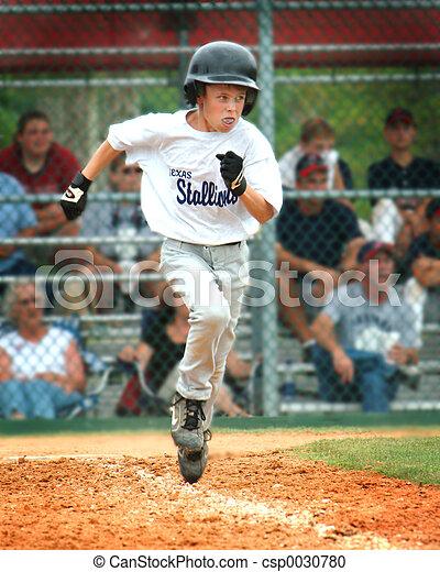 Baseball Runner - csp0030780
