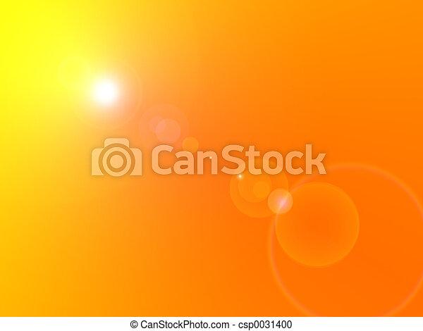 Sun Flare - csp0031400