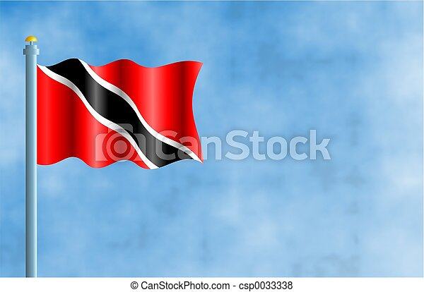 Pictures of Trinidad and Tobago - National flag of Trinidad and Tobago