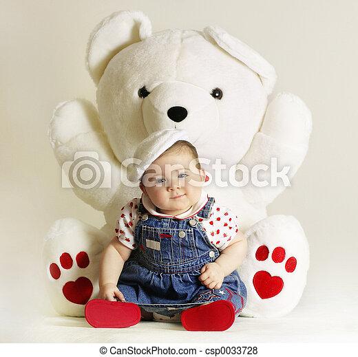 bebê, Amor - csp0033728