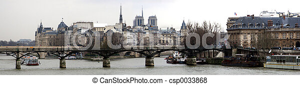Panorama of Paris - csp0033868