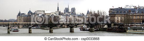 Panorama of Paris - csp0033868