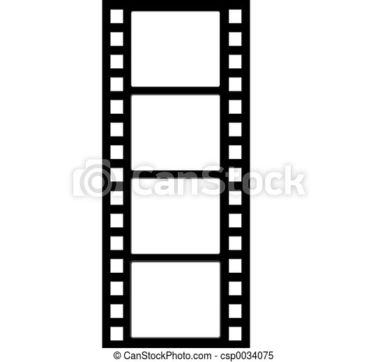 Film Strip 2 - csp0034075