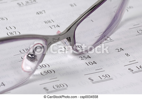 Buchhaltung - csp0034558