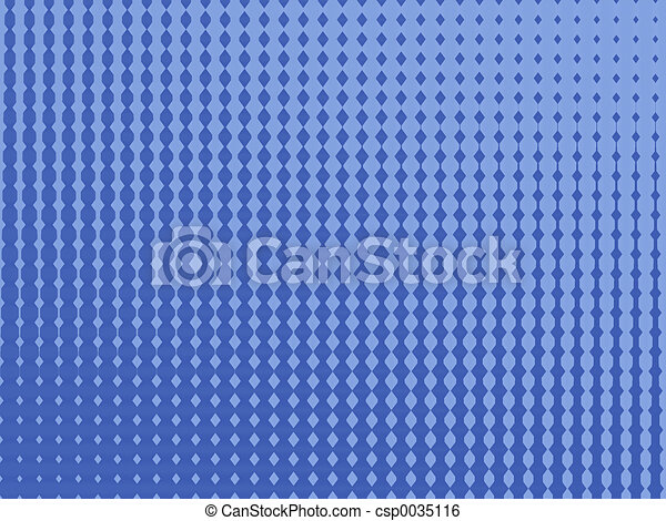 Blue pattern - csp0035116