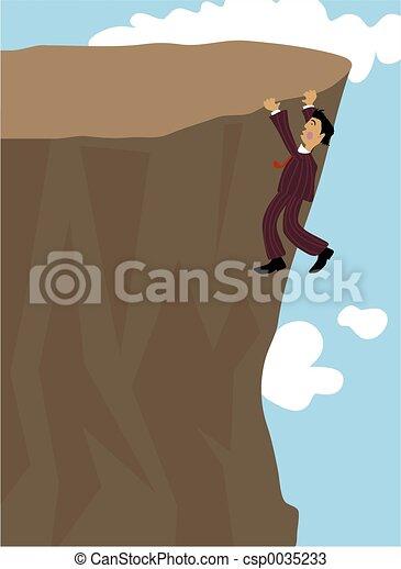Cliff Hanger - csp0035233