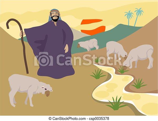 The Good Shepherd - csp0035378