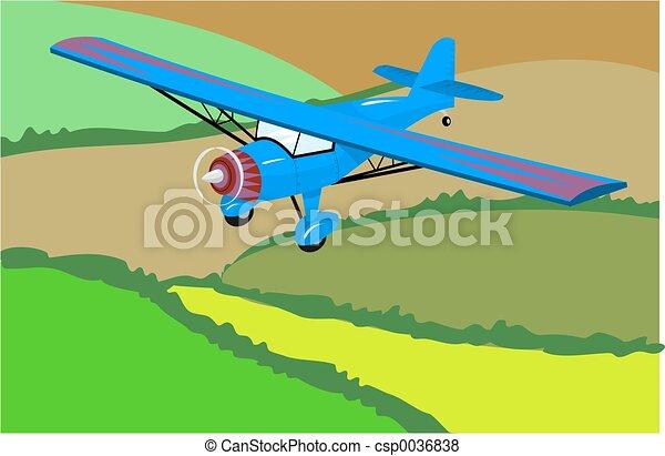 Light Aircraft - csp0036838