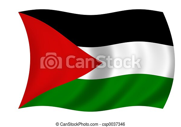 flag of palestine - csp0037346